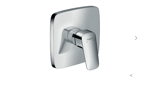 Hansgrohe Logis Single lever manual shower mixer HighFlow for concealed installa