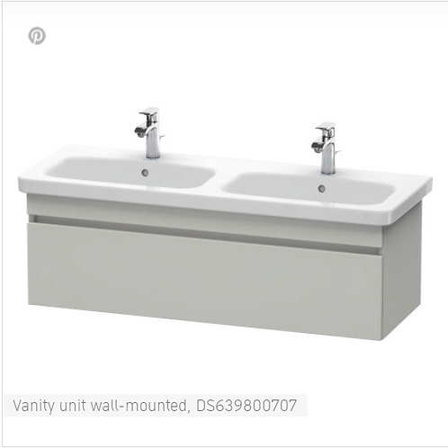 Duravit DuraStyle Vanity unit wall-mounted 1230 X 448