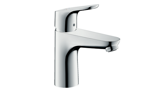 Hansgrohe Focus Single lever basin mixer 100 LowFlow 3.5 l/min with pop-up waste
