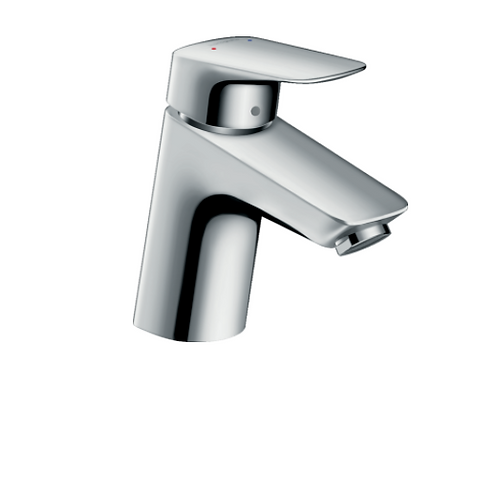 Hansgrohe Logis Single lever basin mixer 70 LowFlow 3.5 l/m with pop-up waste