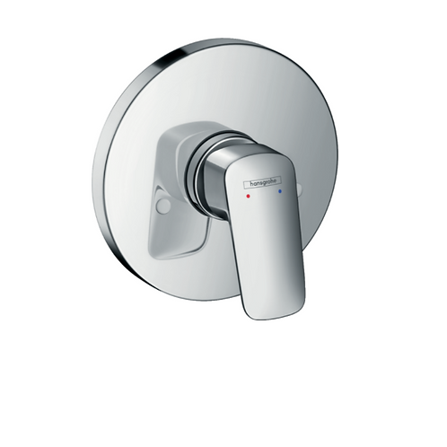 Hansgrohe Logis Single lever manual shower mixer round for concealed installatio