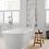 Thumbnail: BC Designs Aurelius Cian Solid Surface Bath 1740 x 760mm