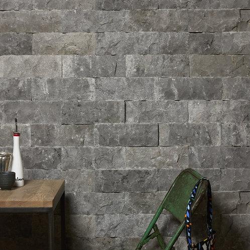 Rockface Brick Zuber Limestone 10 x 30.5cm Price Per Sqm