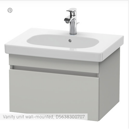 Duravit DuraStyle Vanity unit wall-mounted  600 X 453