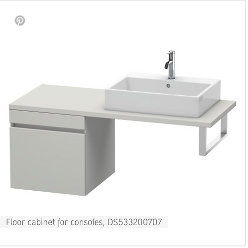 DuraStyle Floor cabinet for consoles 500mm x 548mm