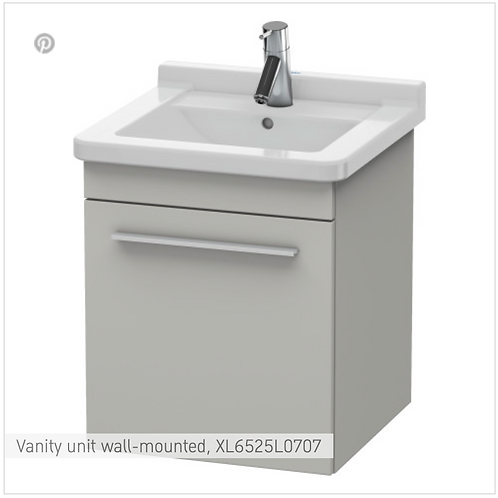 X-Large Vanity unit wall-mounted 440 x 443 mm