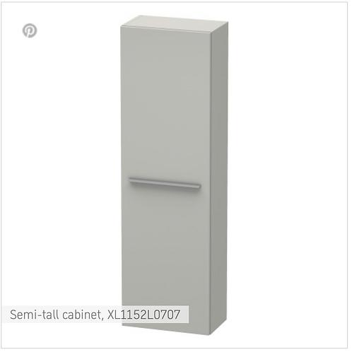 X-Large Semi-tall cabinet 400 x 238 mm