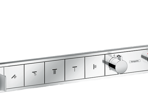 Hansgrohe RainSelect Thermostatic mixer for concealed installation for 5 outlets