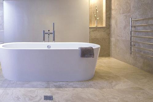 BC Designs Plazia Acrymite Acrylic Bath 1780 x 800mm