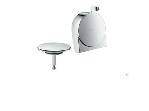 Hansgrohe Exafill S Finish set bath filler, waste and overflow set