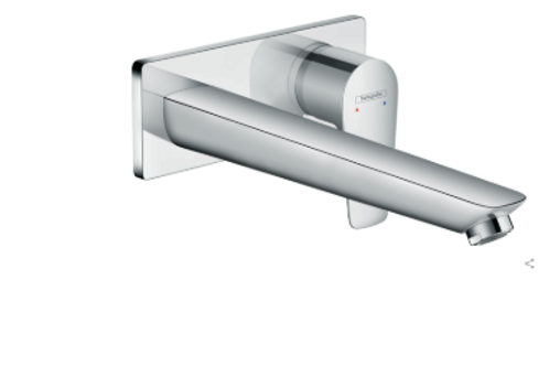 Hansgrohe Talis E Single lever basin mixer for concealed installation with spout