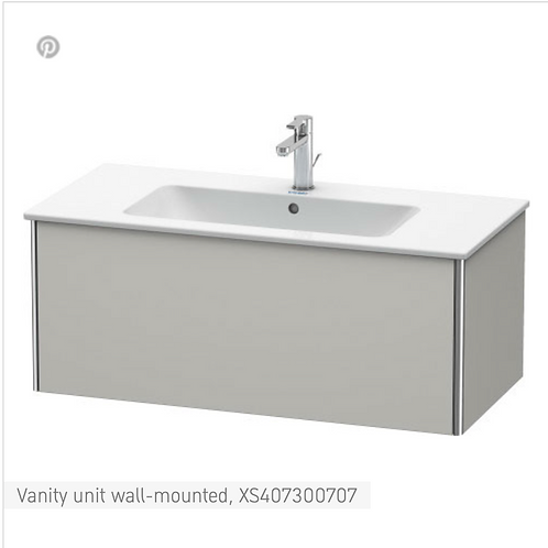 XSquare Vanity unit wall-mounted 1010 x 478 mm