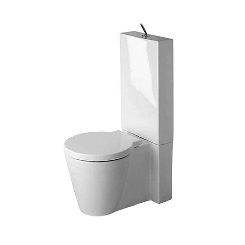Duravit Starck 1 Close-Coupled Pan & Cistern