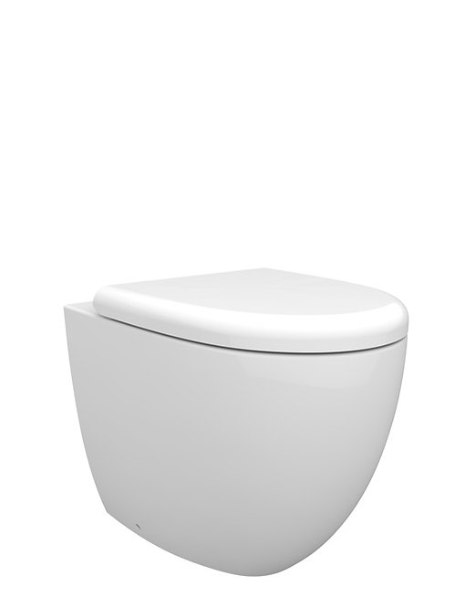 Cifial A1 Back-To-Wall Pan & Seat