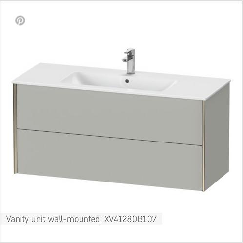 XViu Vanity unit wall-mounted 1210 x 480 mm