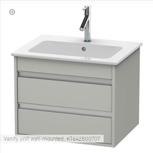Duravit Ketho Vanity unit wall-mounted 1000 X 475
