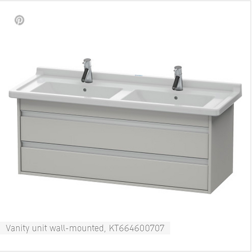 Duravit Ketho Vanity unit wall-mounted 1200 X 465