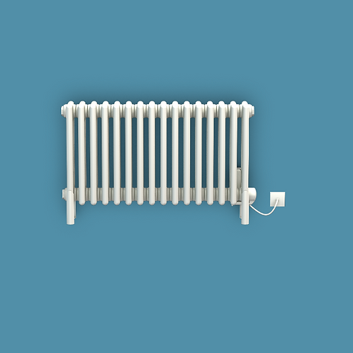 Bisque Classic 475mm x 594mm Radiator - Electric