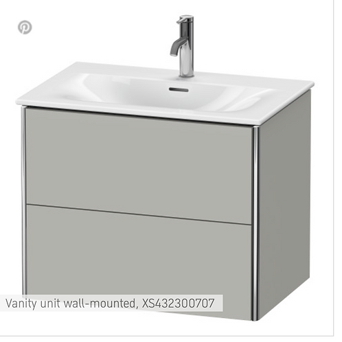 XSquare Vanity unit wall-mounted 710 x 478 mm