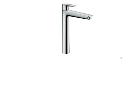 Hansgrohe Talis E Single lever basin mixer 240 with pop-up waste
