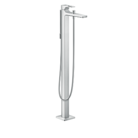 Hansgrohe Metropol Single lever bath mixer floor standing with loop handle