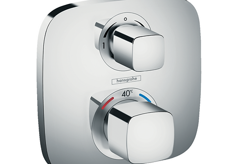 Hansgrohe Ecostat E Thermostatic mixer for concealed installation for 2 outlets