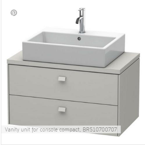 Duravit Brioso Vanity Unit Floor Standing 820mm x 480mm