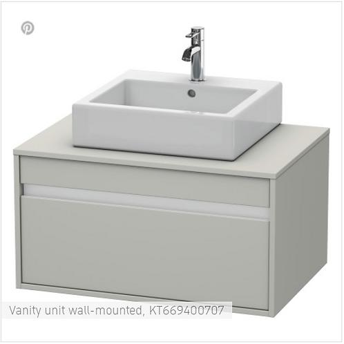 Duravit Ketho Vanity unit wall-mounted 1000 X 550