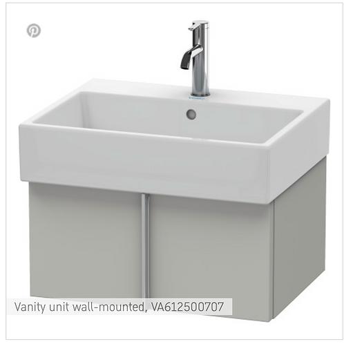 Vero Air Vanity unit wall-mounted 584mm x 431mm