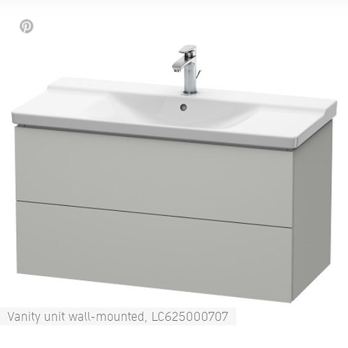Duravit L-Cube Vanity Unit Wall Mounted 1020 x 481