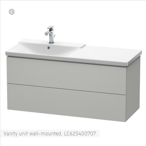 Duravit L-Cube Vanity Unit Wall Mounted 1220 x 481