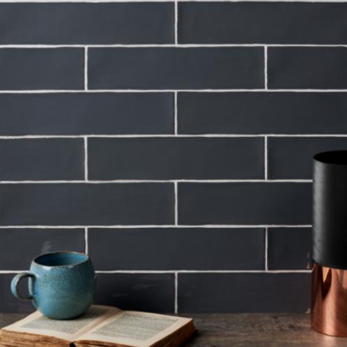 Carter Ceramic Grey 7.5 x 30cm Price Per Sqm