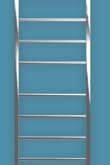 Bisque Gio 1800mm x 530mm Towel Rail