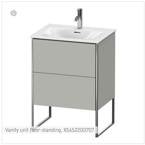 XSquare Vanity unit floor-standing 610 x 478 mm