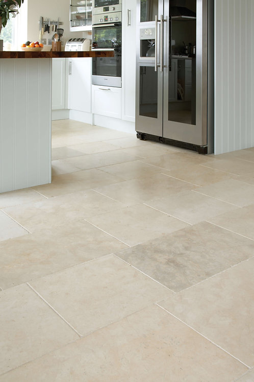 Fontaine Limestone Tumbled Finish 40 x 40cm Price Per Tile