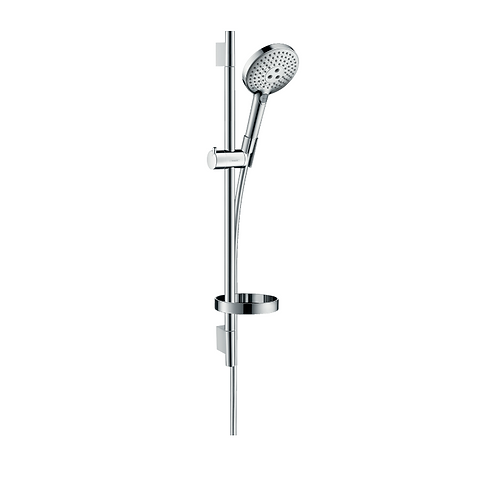 Hansgrohe Raindance Select S Shower set 120 3jet with shower rail 65 cm and soap