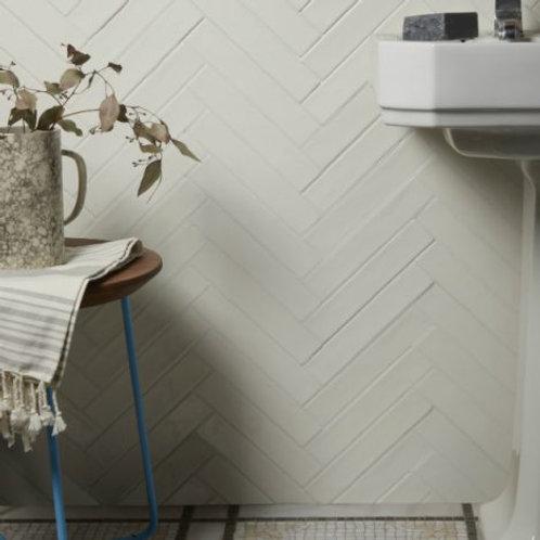 Avebury Ceramic Parchment 5 x 25cm Price Per Sqm