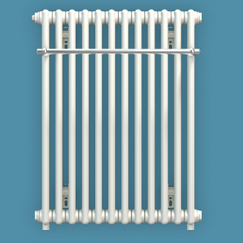 Bisque Classic 742mm x 578mm Towel Rail