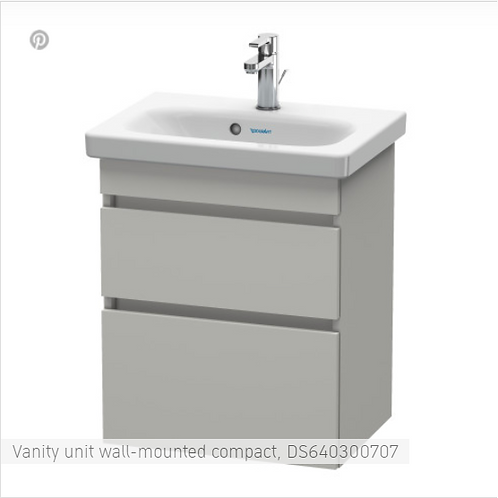 Duravit DuraStyle Vanity unit wall-mounted compact 580 X 368