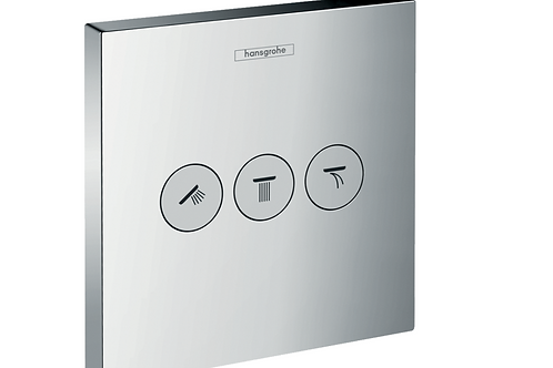 Hansgrohe ShowerSelect Valve for concealed installation for 3 outlets