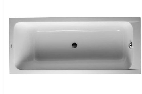 Duravit D-Code Bathtub 1700x750 with support feet