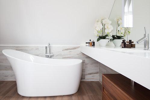BC Designs Slipp Acrymite Acrylic Bath 1590 x 800mm