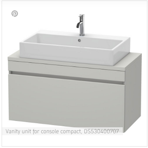 Duravit  DuraStyle Vanity Unit For Console Compact 1000mm x 478mm