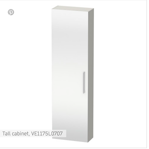 Vero Tall cabinet 500 x 230 mm