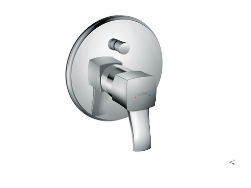 Hansgrohe Metropol Classic Single lever manual bath mixer for concealed installa