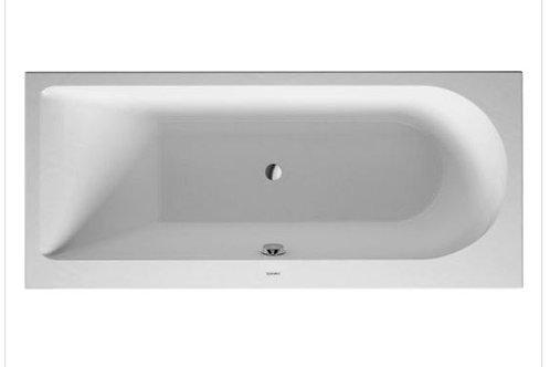 Duravit Darling New Bathtub 1600x700 with support feet