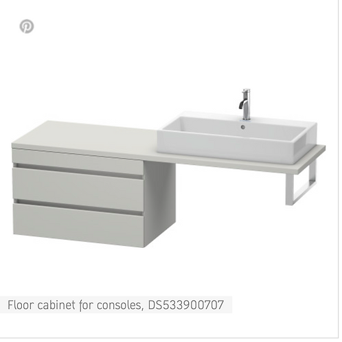 DuraStyle Floor cabinet for consoles 800mm x 548m