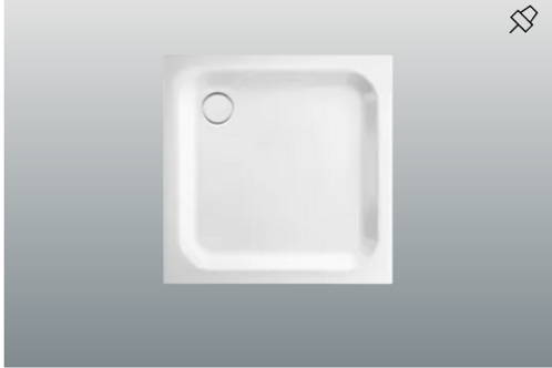 Bette Supra Shower Trays, Depth 6.5cm