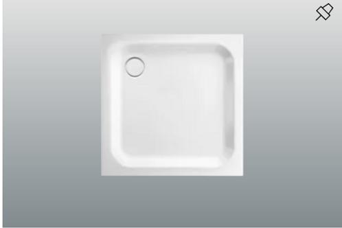 Bette Supra 1500 - 1800mm Shower Trays, Depth 6.5cm