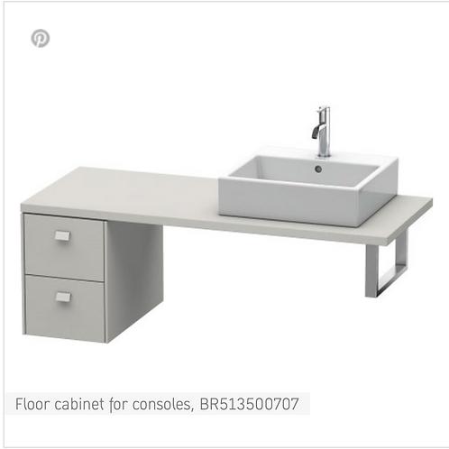 Brioso Vanity unit for console 320mm x 550mm